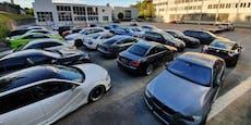 Porsche, BMW & Audis bei Tuning-Kontrolle beschlagnahmt