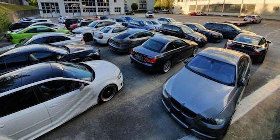 14 Autos hat die Luzerner Polizei bei einer Kontrolle sichergestellt.