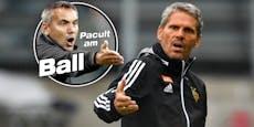 "Pacult: ""Kein Rapid-Spieler nimmt Heft in die Hand"""