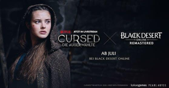 Cursed x Black Desert: Pearl Abyss und Netflix kündigen Crossover an.