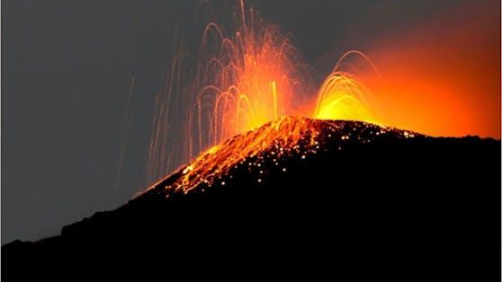 Vulkan Pacaya in Guatemala.