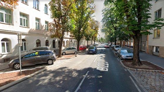 Blick in die Koppstraße in Wien-Ottakring.