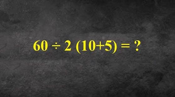Kennst du die Lösung?