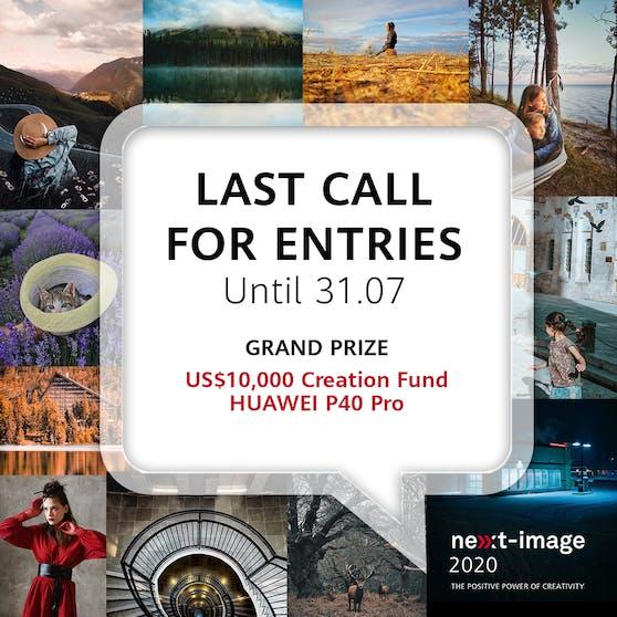 Huawei Next-Image Award 2020 - Letzte Chance zur Teilnahme.