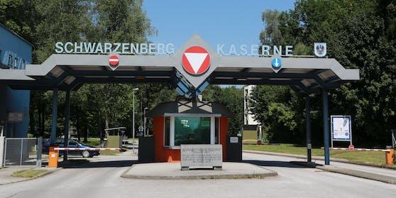 Die Schwarzenbergkaserne in Salzburg