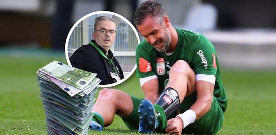 """Maierhofer über Zeit in Mattersburg: """"Ich habe gutes Geld verdient, leistungsbezogen."""""""