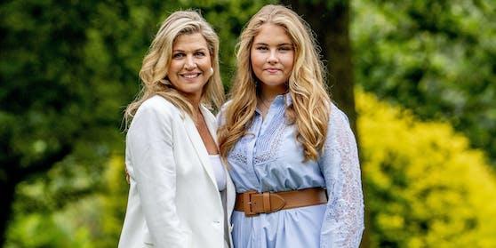 Königin Maxima und ihre Tochter Amalia (16)