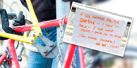 Ein Fahrrad-Diebstahl mit Stil lässt das Netz jubeln