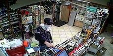 Messer-Mann bedrohte Trafikantin und forderte Bargeld