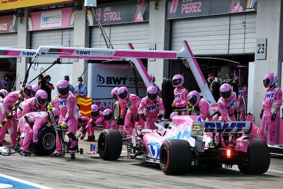 Red Bull ärgert sich über Racing Point.