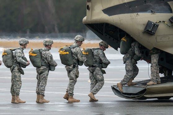 Mehr als 12.000 US-Soldaten sollen aus Deutschland abgezogen werden.