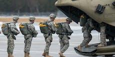 USA ziehen 12.000 Soldaten aus Deutschland ab