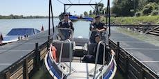 Polizei zieht Mann nach Brücken-Sprung aus der Donau