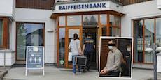 Bankraub mit Corona-Maske: 30 Monate Haft