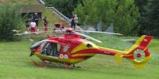 Zwei Schwerverletzte bei Paragleiter-Absturz