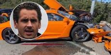 Ex-Formel-1-Pilot schrottet Luxus-Auto in Monaco
