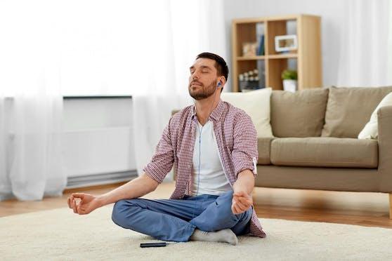 Meditation hilft nachhaltig dabei, entspannter durch den Alltag zu kommen.