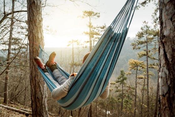 Ob am Strand oder im Wald –Sorglosigkeit und wegfallende Verpflichtungen machen den Urlaub einfach zu etwas Besonderem.