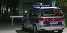 Als Polizei kam, sprangen zwei Männer aus Fenster
