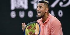 Tennis-Rüpel Kyrgios teilt auch gegen Coric aus