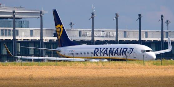 Die Ryanair-Maschine musste in Thessaloniki notlanden.