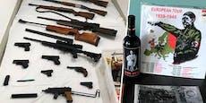 Unternehmer protzte mit Nazi-Material und Waffenarsenal