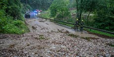 Schwere Unwetter verwüsten Niederösterreich