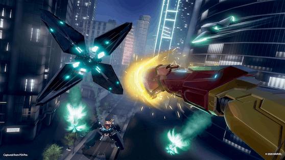 """Stellen den Großteil der Gegner dar: Verschiedene Drohnen in """"Marvel's Iron Man VR""""."""