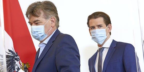 Sebastian Kurz und Werner Kogler haben weitreichende Maßnahmen beschlossen.
