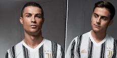Edle Wäsch! Flinserl-Ronaldo zeigt neues Juve-Trikot