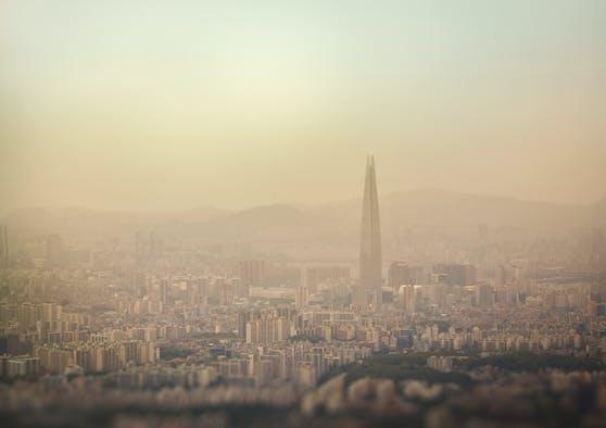 In weiten Teilen Südostasiens übersteigt die Luftverschmutzung die von der Weltgesundheitsorganisation empfohlenen Grenzwerte.