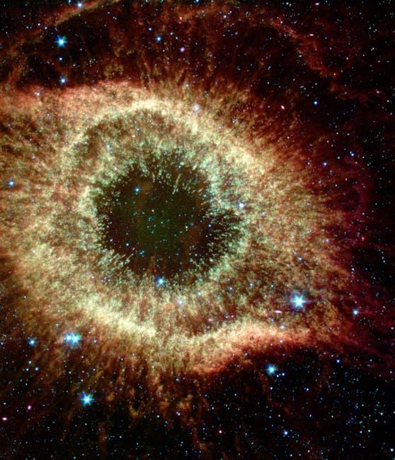 """Infrarot-Aufnahme des """"Auge Gottes"""""""