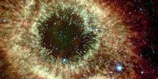 Helixnebel beobachtet unsere Erde