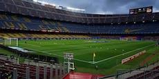 Champions-League-Kracher Barca gegen Napoli wackelt