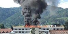 Neue Mittelschule in St. Mareinim Mürztal brannte