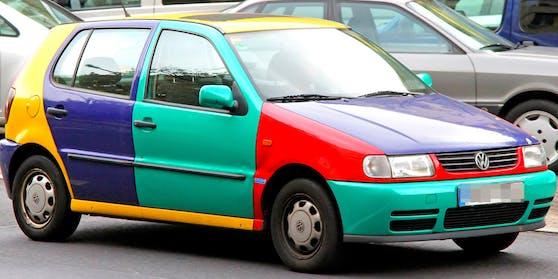 Der VW Polo des 26-Jährigen hatte über 400 PS.