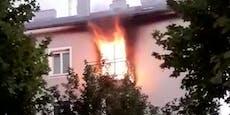 "Brand in Wien: ""Frau musste aus Fenster springen"""