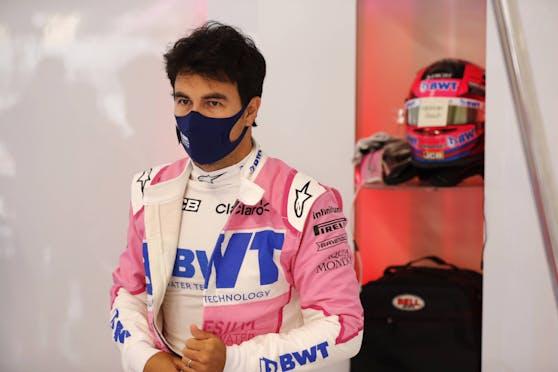 Sergio Perez ist mit dem Coronavirus infiziert.
