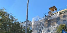 Wiener von Baugerüst in der Leopoldstadt gestürzt
