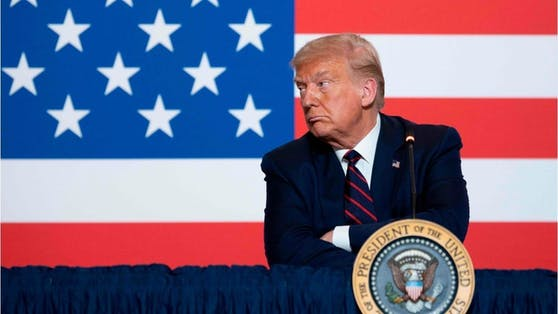 Anschuldigungen gegen seine politischen Gegner und Leugnung seiner Niederlage: Erneut hat der amtierende US-Präsident Trump deutlich gemacht, dass er sich nicht mit dem Sieg des Demokraten Biden abfinden will - dieses Mal in einer ausführlichen Ansprache.
