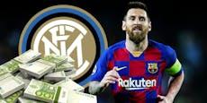 Zahlt Inter 260 Millionen für 38-jährigen Messi?
