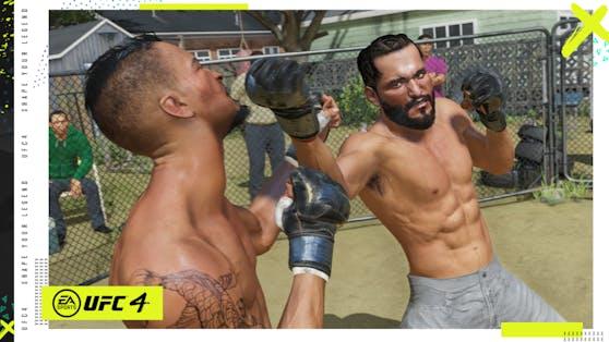 EA SPORTS UFC 4: Details zum Karrieremodus enthüllt.