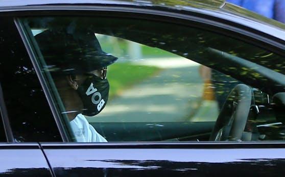 Jerome Boateng war in einen Autounfall verwickelt.