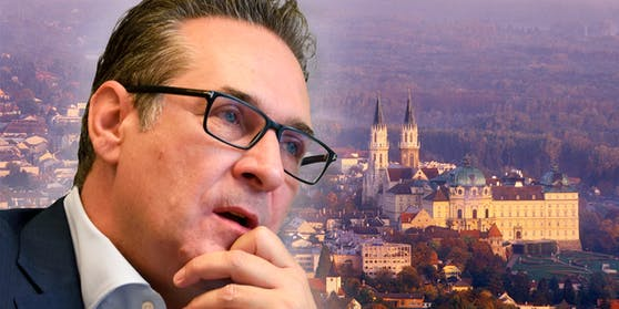 Liegt Straches Lebensmittelpunkt eigentlich in Klosterneuburg (NÖ)?