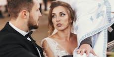 Braut liest statt Gelübde Betrugs-SMS ihres Mannes vor