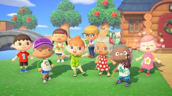 """Auf ihrer Insel in """"Animal Crossing"""" ist immer etwas los – das Game wurde 2020 oft gesucht."""