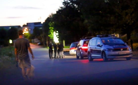 Festnahme des Verdächtigen in Linz