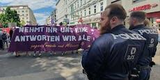 So laut endete Linken-Demo am Samstag in Wien