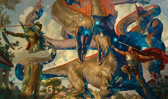 """""""Mythic Odysseys of Theros"""" bietet massig epische Monster."""