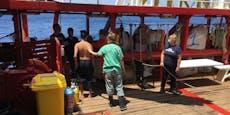 Flüchtlinge am Ende – Notstand auf Rettungsschiff